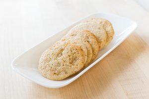 Lemon Ginger Cookies Vegan