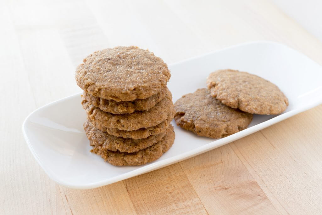 Pepparkakor Shortbread Vegan Cookies Carinas Bakery