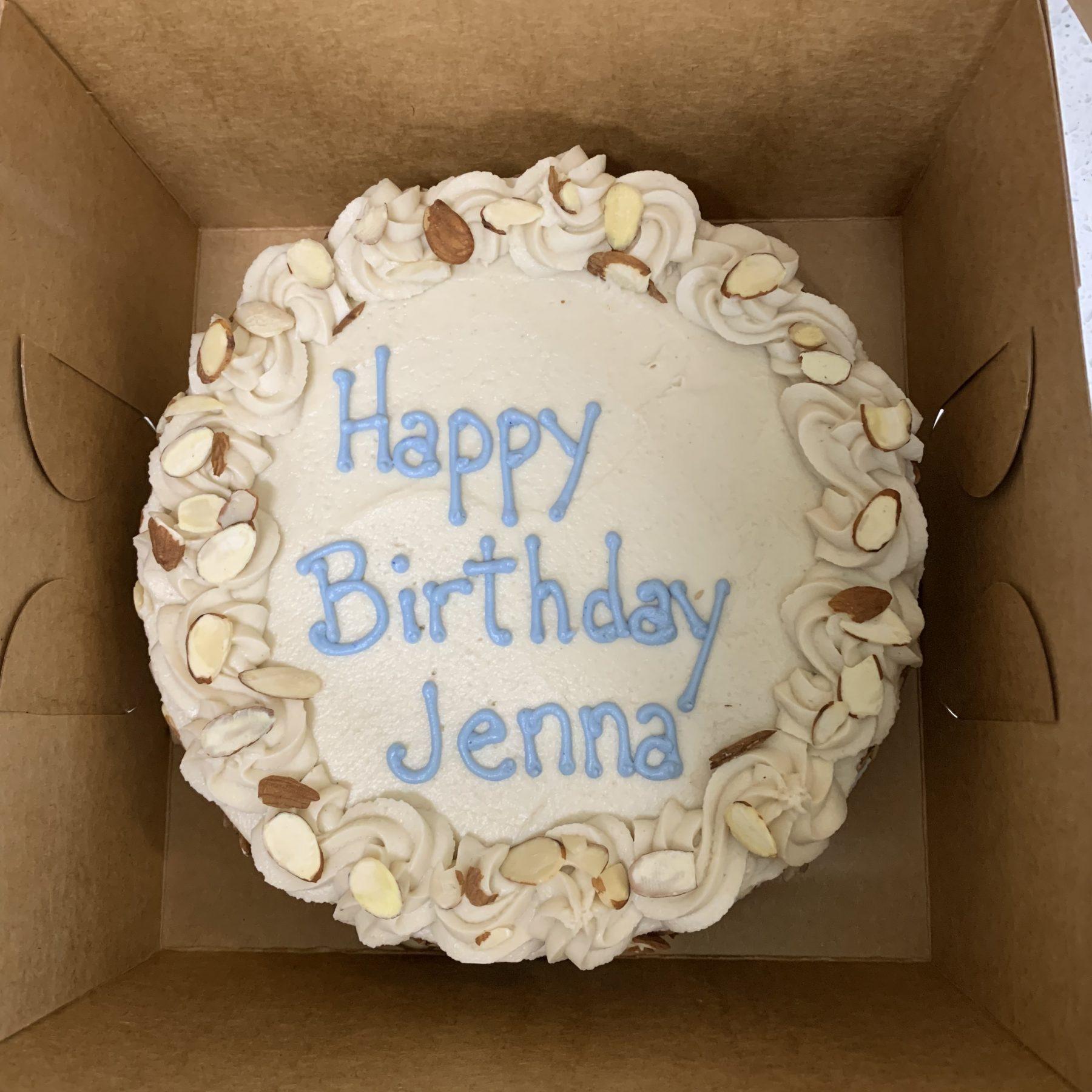 Birthday Cake Custom Baked