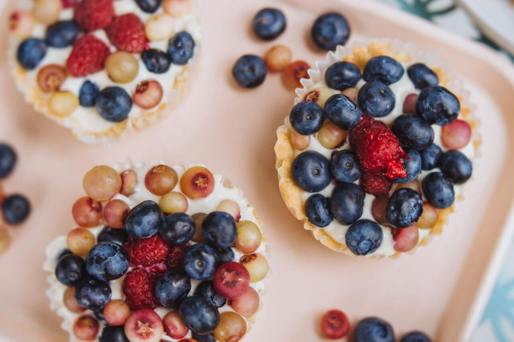 Seasonal Fruit Tarts