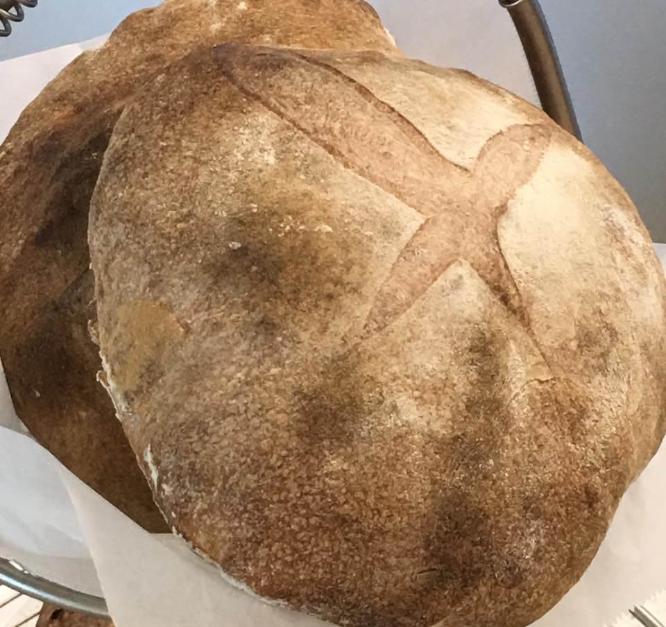 Fresh Baked Limpa Bread