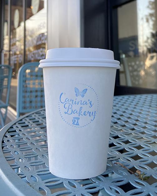 Hot Coffee Carina's Bakery