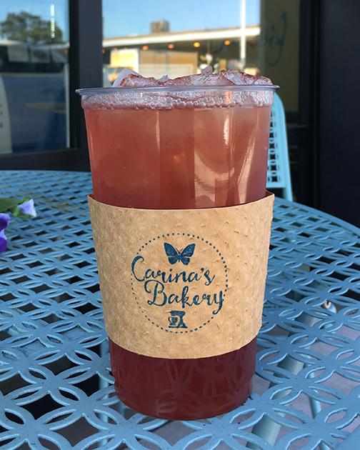 Iced Tea Carina's Bakery
