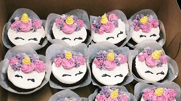 Vegan Unicorn Cupcakes Carina's Bakery