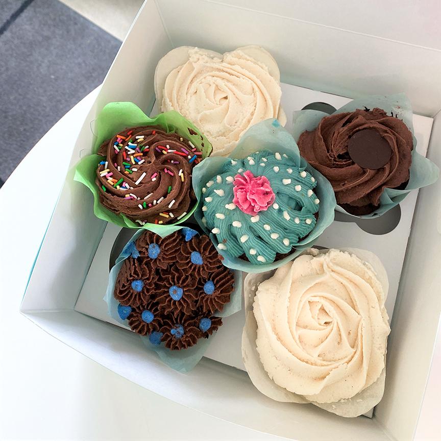 Variety Pack Vegan Cupcakes