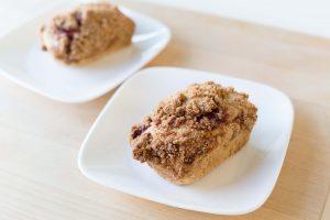 Lingonberry Vegan Coffee Cake