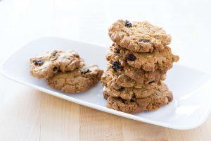 Morfars Raisin Cookies Vegan Carina's Bakery