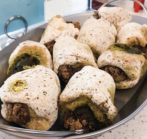 Vegan Sausage Rolls at Carina's Bakery