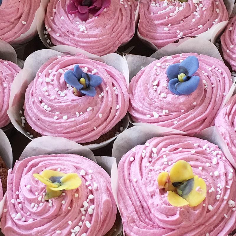 Vegan Spring Custom Cupcakes