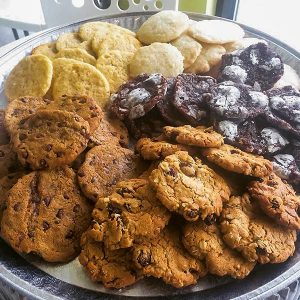 vegan cookie platter catering