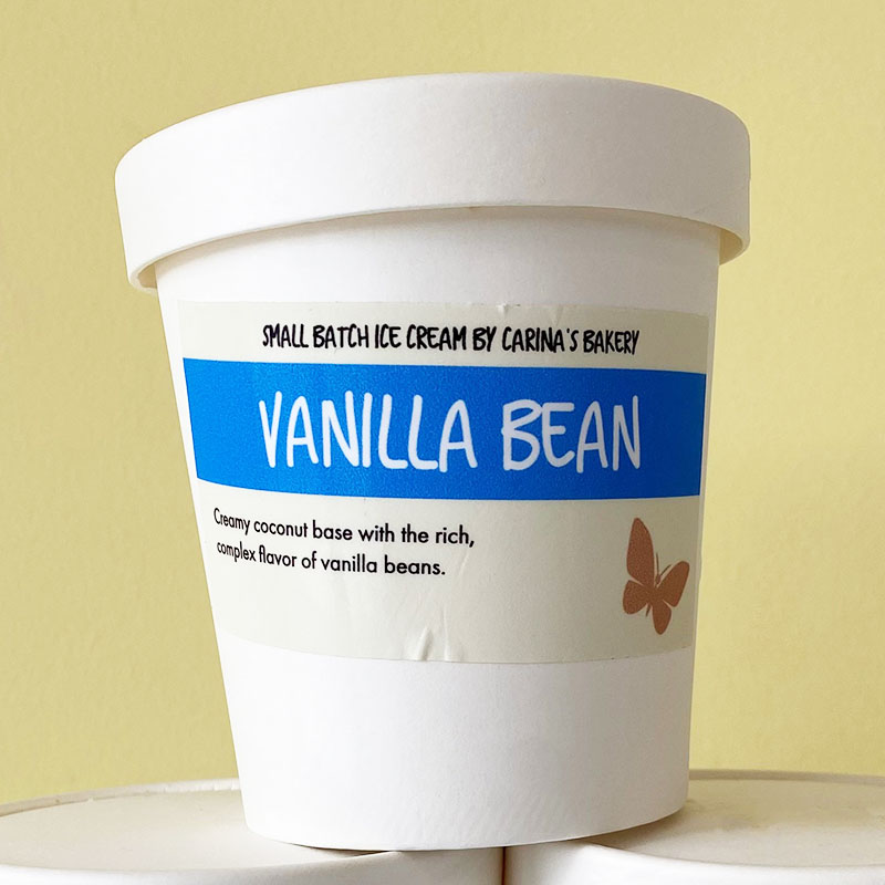 Vegan Vanilla Ice Cream